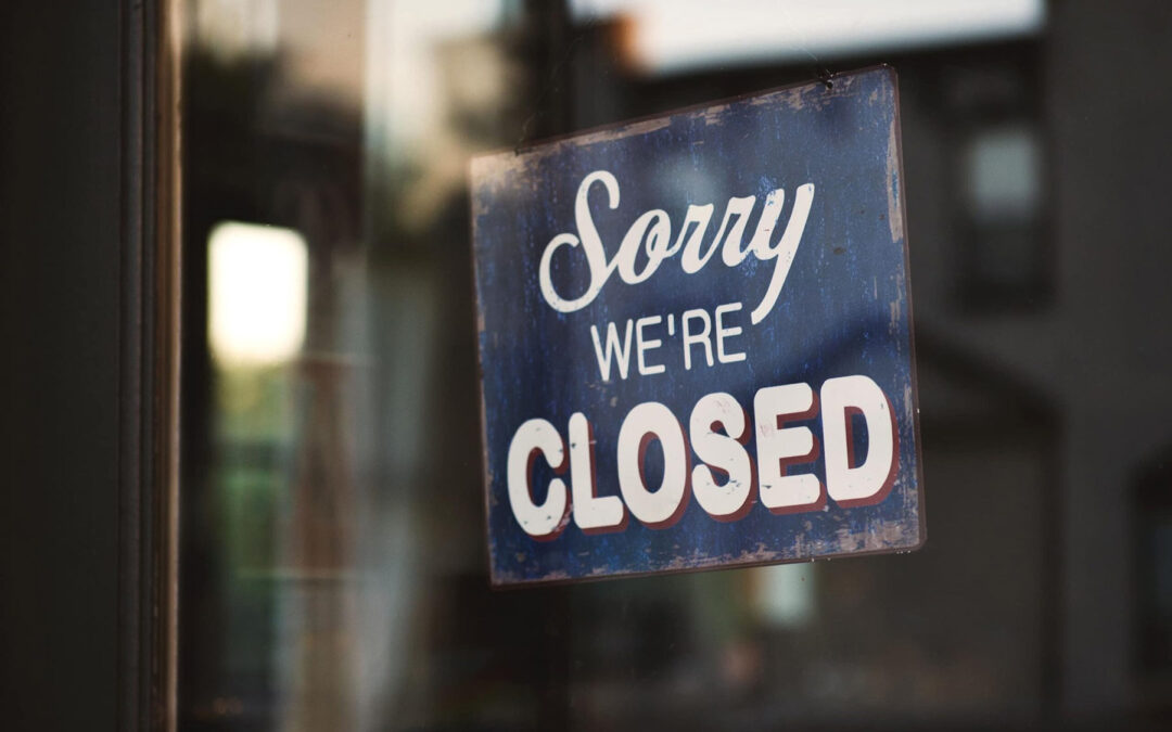 You've been told to close your restaurant. What now?