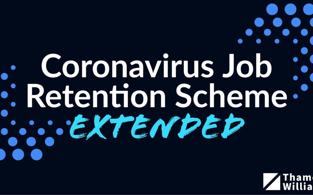 The Job Retention Scheme (Furlough) Extended